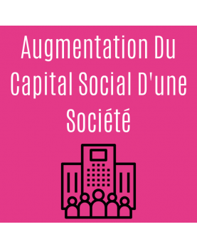 Augmentation du capital...